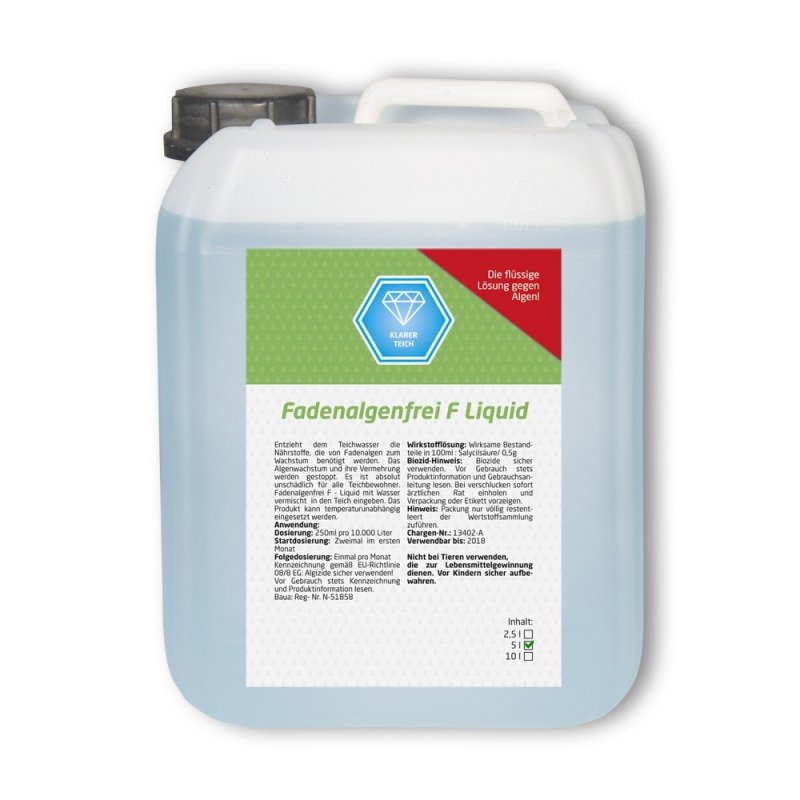 Fadenalgenfrei F Liquid 5l